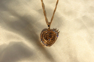 ALLAH HEART NECKLACE - Bling Ting