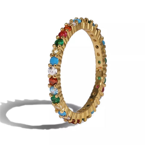 COLORFUL FABI RING - Bling Ting