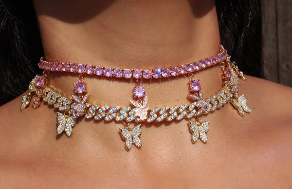 PLAYBAE CHOKER - Bling Ting