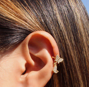 BUTTERFLY EAR CUFF - Bling Ting