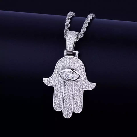 MENS HAMSA NECKLACE - Bling Ting