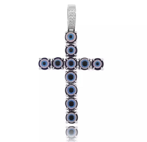 MAL DE OJO CROSS CHAIN - Bling Ting