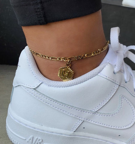 INITIAL ANKLET 2.0 - Bling Ting
