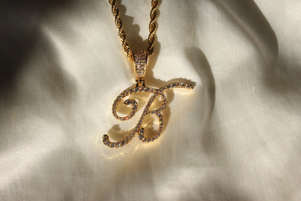 BOUJEE INITIAL NECKLACE - Bling Ting