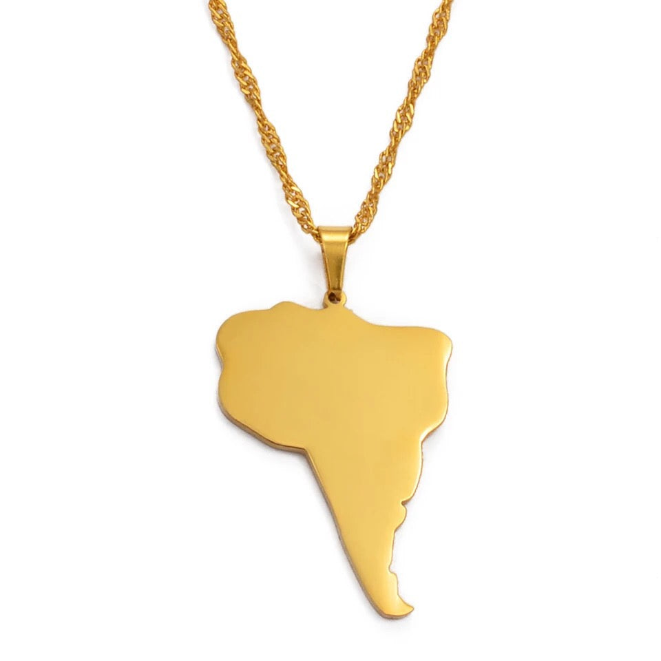 SOUTH AMERICA NECKLACE - Bling Ting