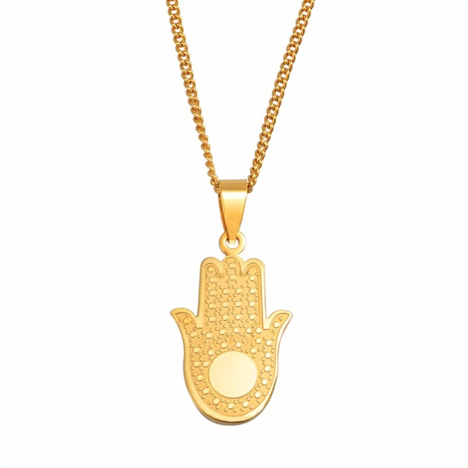 HAMSA NECKLACE - Bling Ting