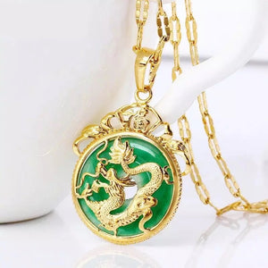 LUCKY DRAGON NECKLACE - Bling Ting