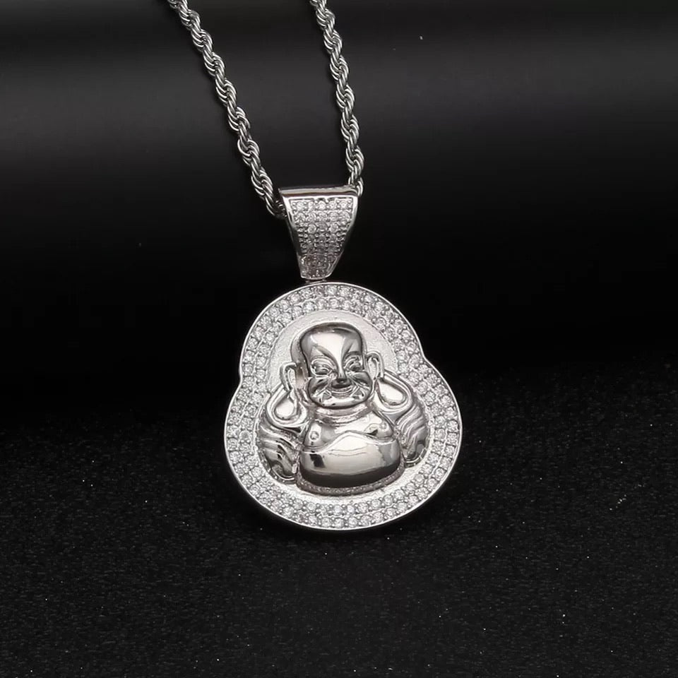MENS BUDDHA NECKLACE - Bling Ting