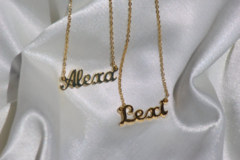 NAME NECKLACE - Bling Ting