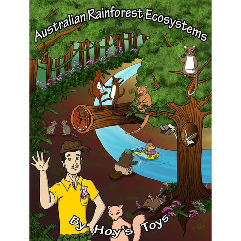 The Australian EcoSystem Series (ages 8 to 12)