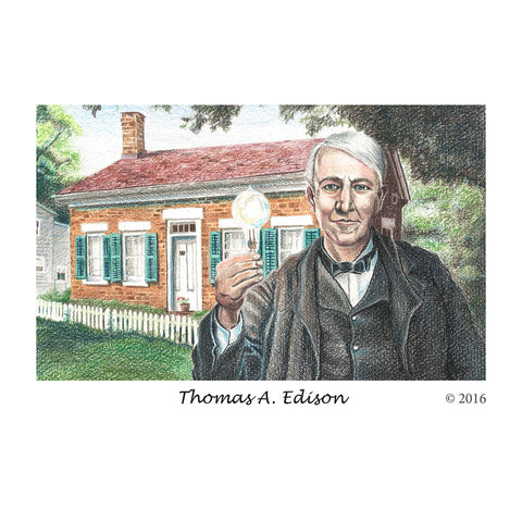 Thomas Edison Birthplace Post Cards