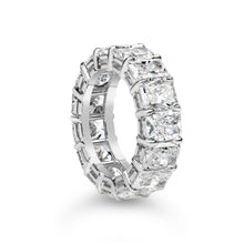 Load image into Gallery viewer, Radiant Cut Eternity Band