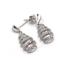Load image into Gallery viewer, Chandelier Diamond Drip Earrings