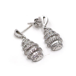 Chandelier Diamond Drip Earrings