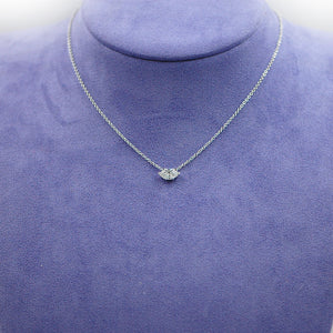 Marquise Solitaire Necklace