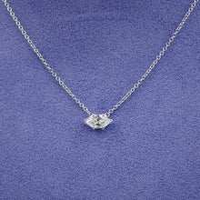 Load image into Gallery viewer, Marquise Solitaire Necklace