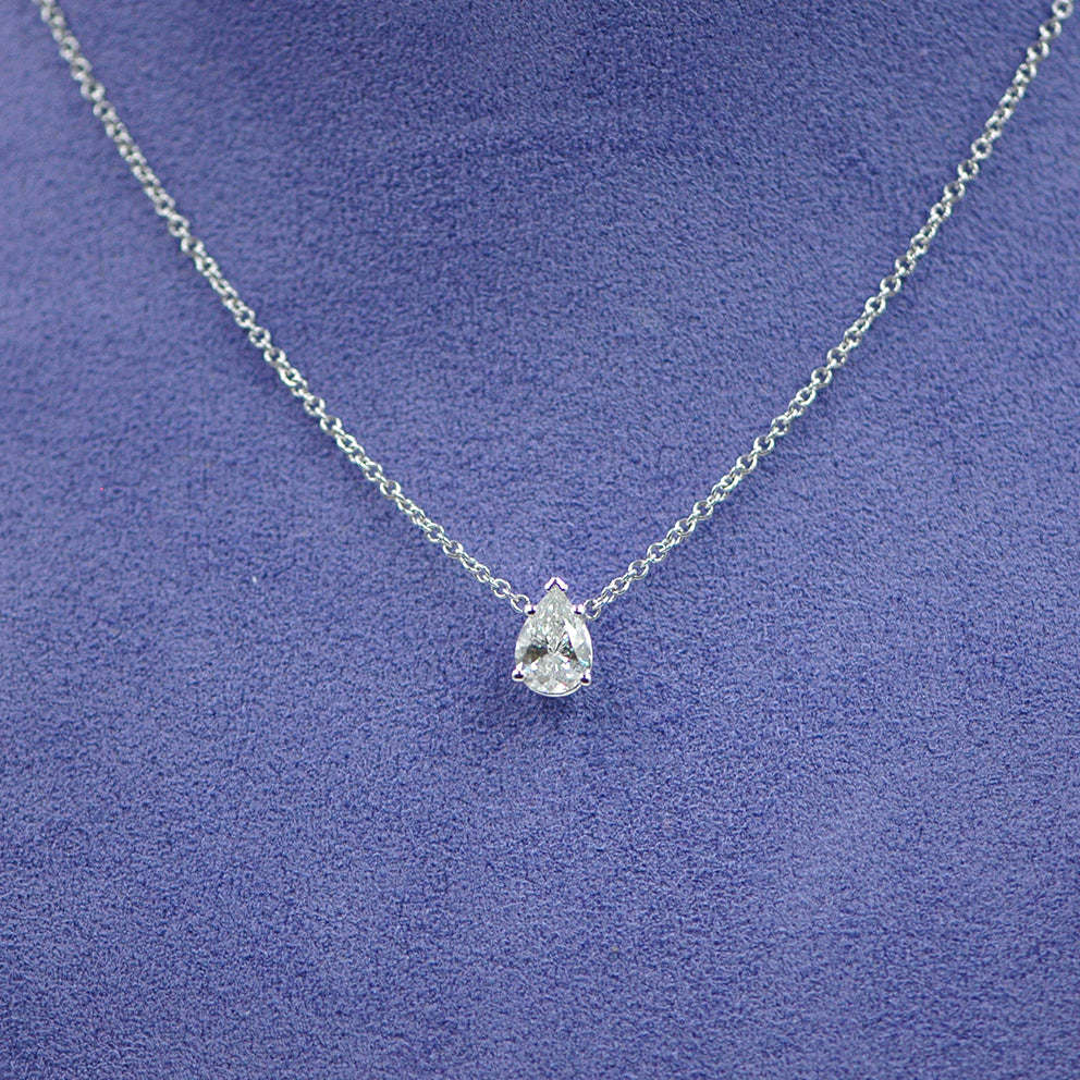 Pear Shape Necklace