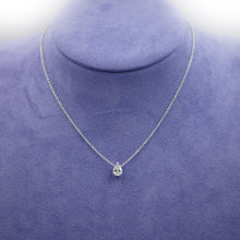 Load image into Gallery viewer, Pear Shape Necklace
