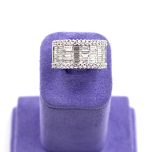 Load image into Gallery viewer, Baguette & Round Diamond Ring