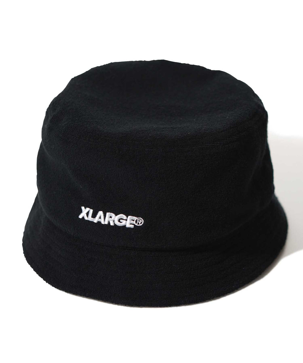 PILE BUCKET HAT - BLACK