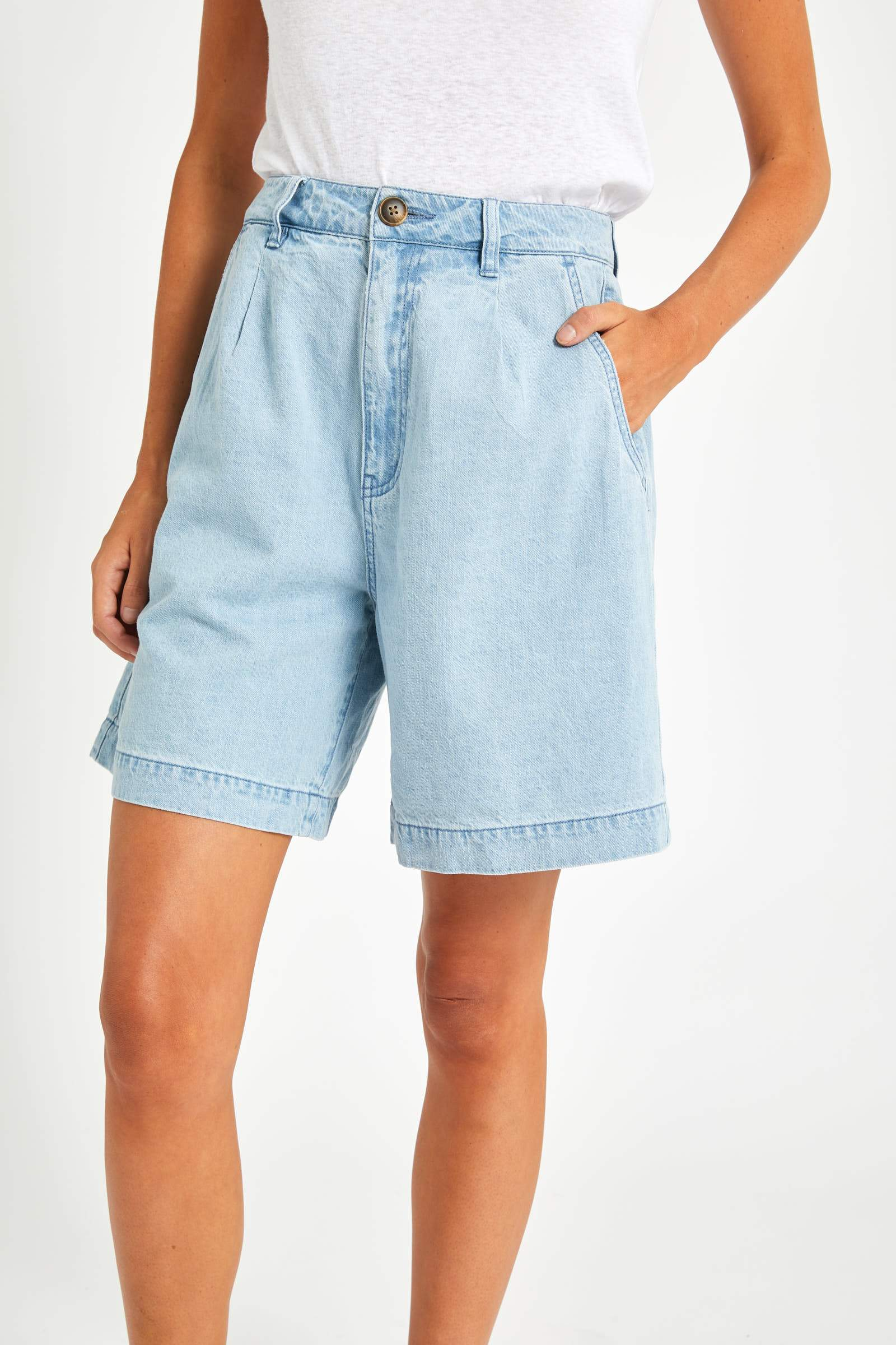 ROLLAS W'S SHORTS HORIZON SHORT - BLUE STONE