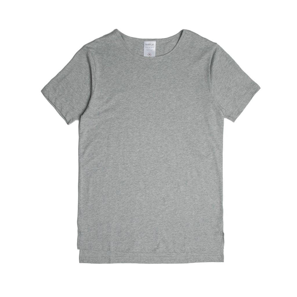 FAIRPLAY M'S T-SHIRTS HEATHER S 05 - OFFICIAL S/S ELONGATED TEE