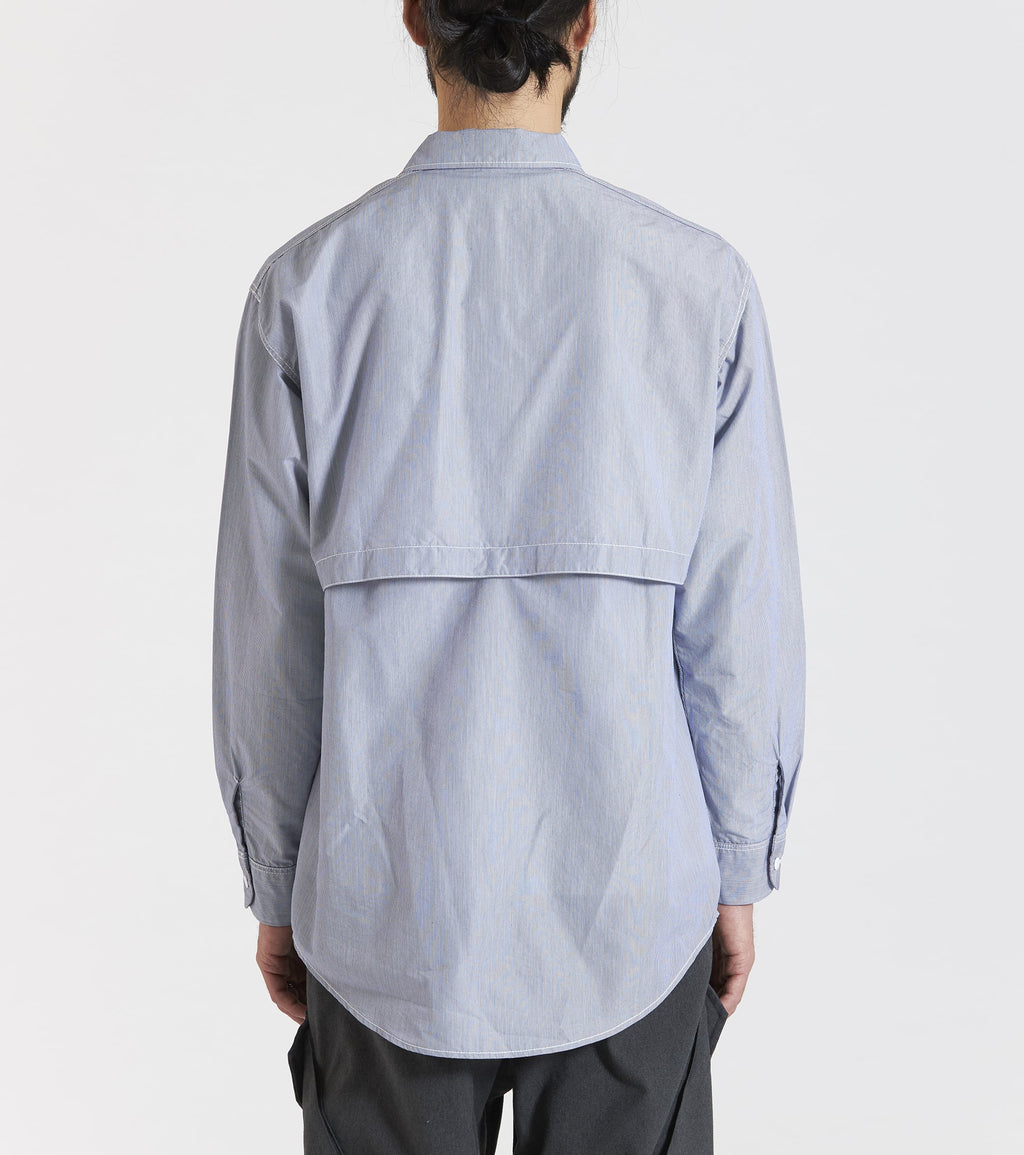 OPEN COLLAR WIND SHIRT
