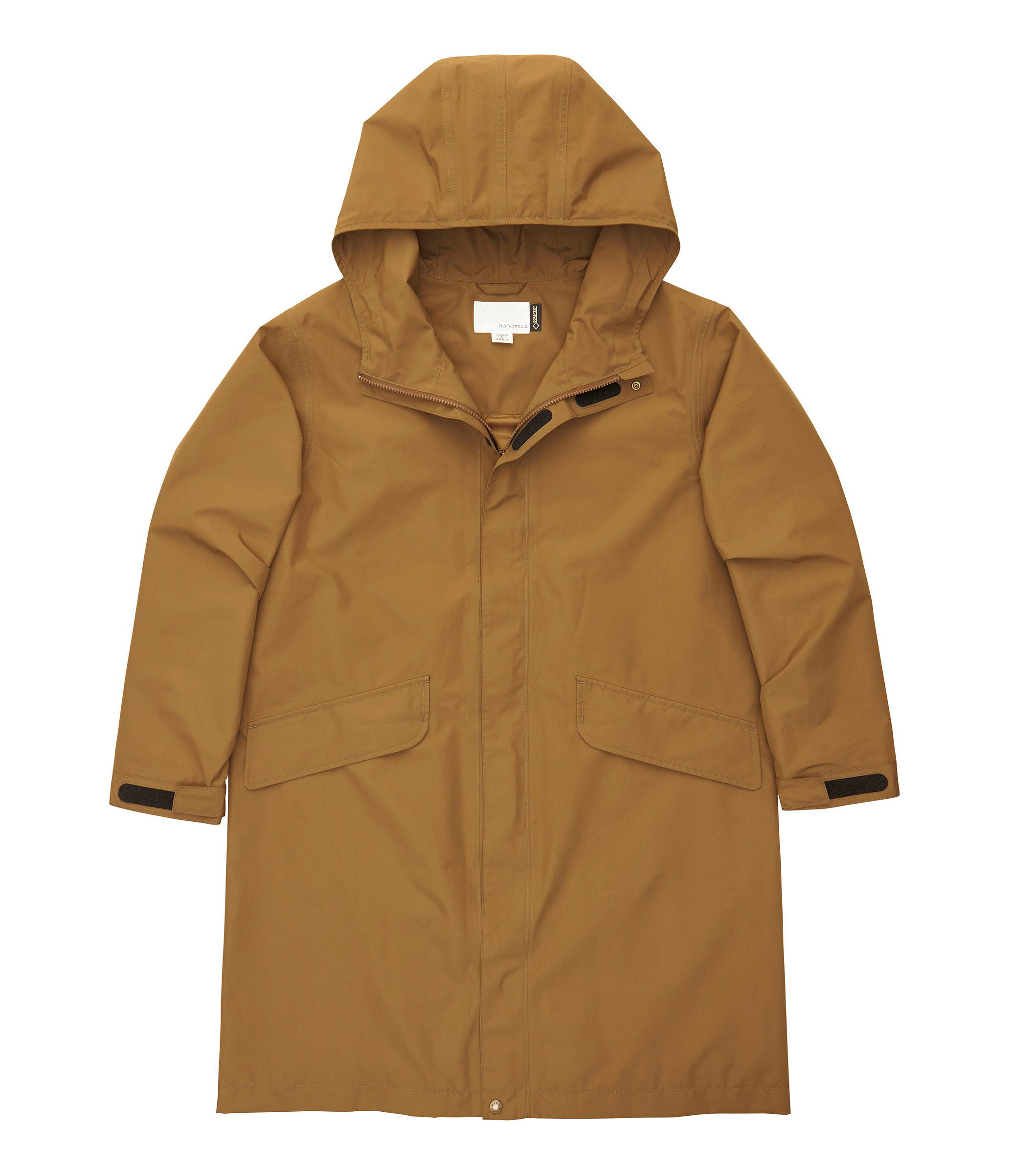 NANAMICA M'S OUTDOOR JKT TAUPE S GORE-TEX SHELL COAT