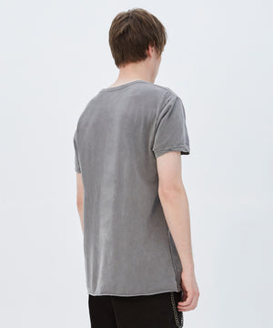SEEING LINES SHORT SLEEVE T-SHIRT - VINTAGE GREY