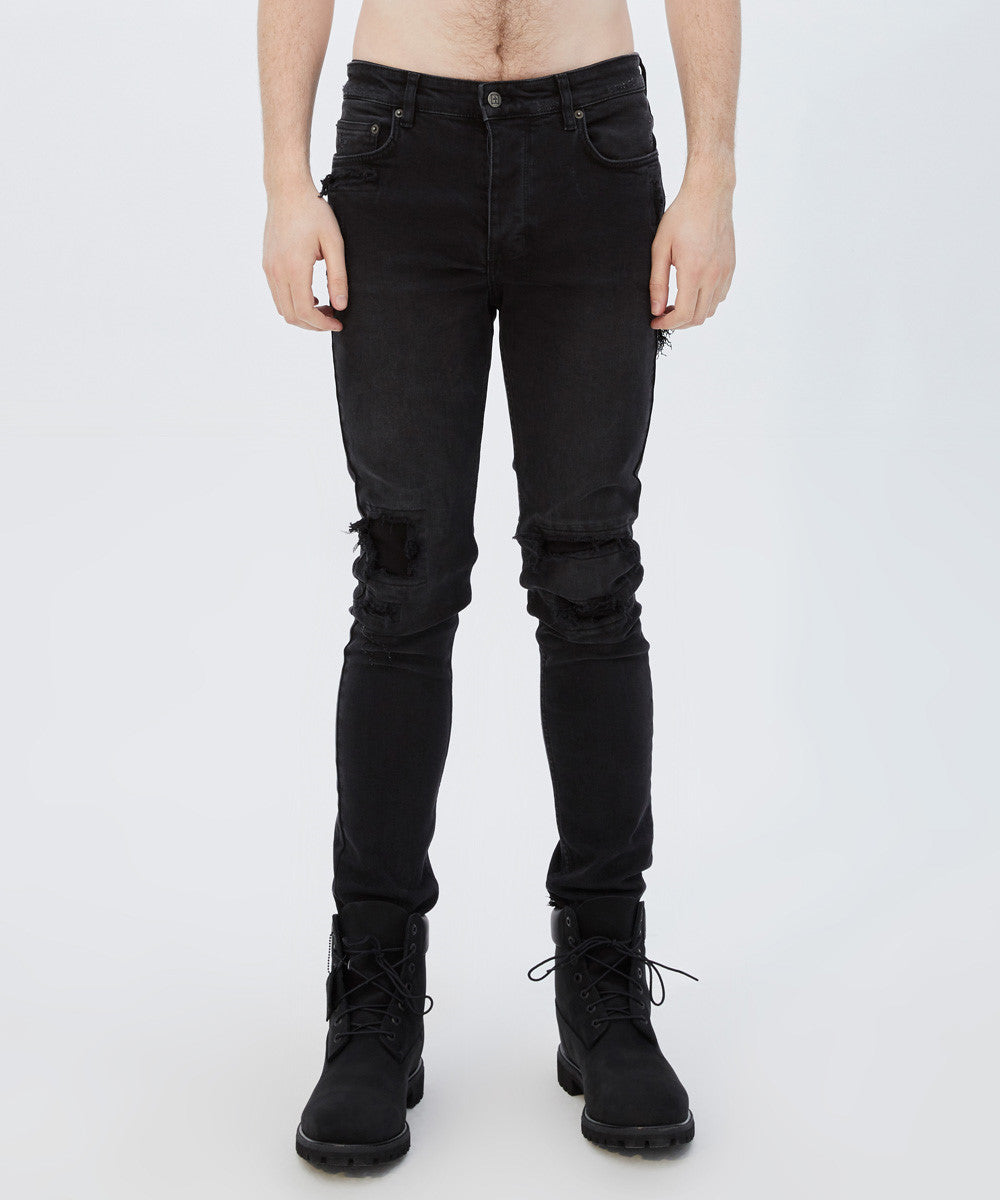 CHITCH JEAN BONEYARD BLACK