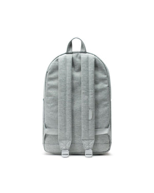POP QUIZ BACKPACK LIGHT GREY CROSSHATCH