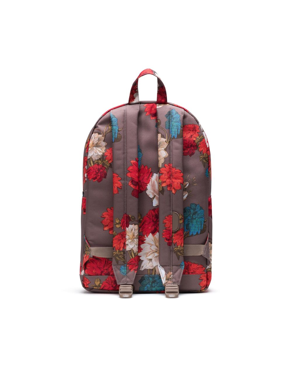 HERSCHEL BACKPACKS POP QUIZ BACKPACK - VINTAGE FLORAL PINE BARK