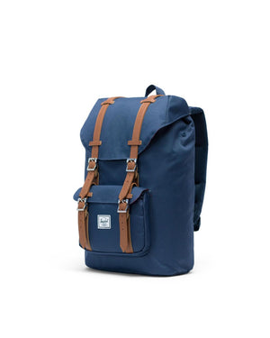HERSCHEL BACKPACKS LITTLE AMERICA BACKPACK MID-VOLUME - NAVY