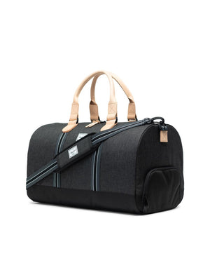 NOVEL DUFFLE | OFFSET COLLECTION BLACK CROSSHATCH