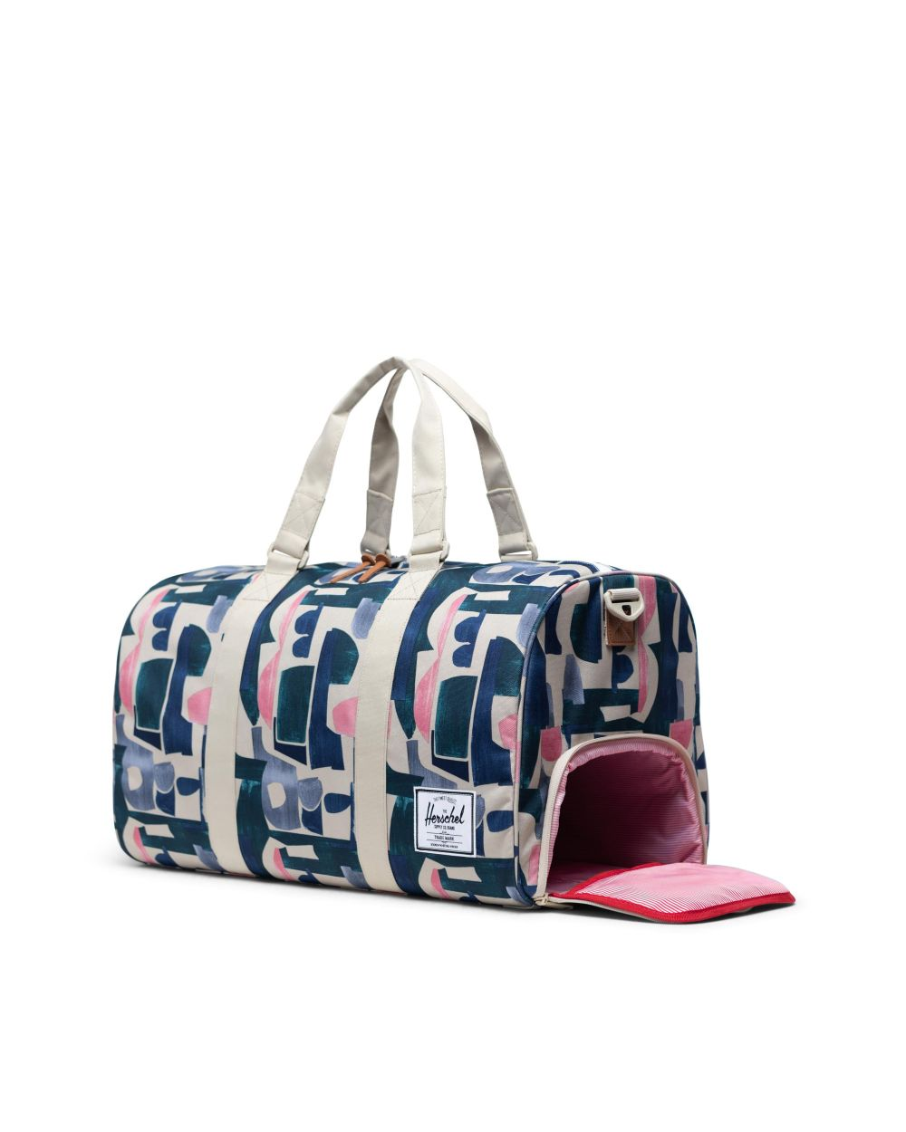 NOVEL DUFFLE - ABSTRACT BLOCK