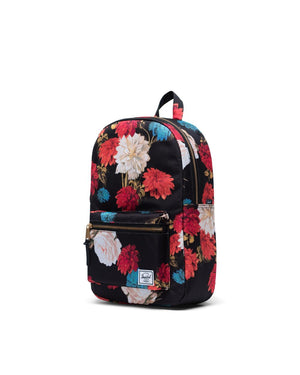 SETTLEMENT BACKPACK MID-VOLUME - VINTAGE FLORAL BLACK