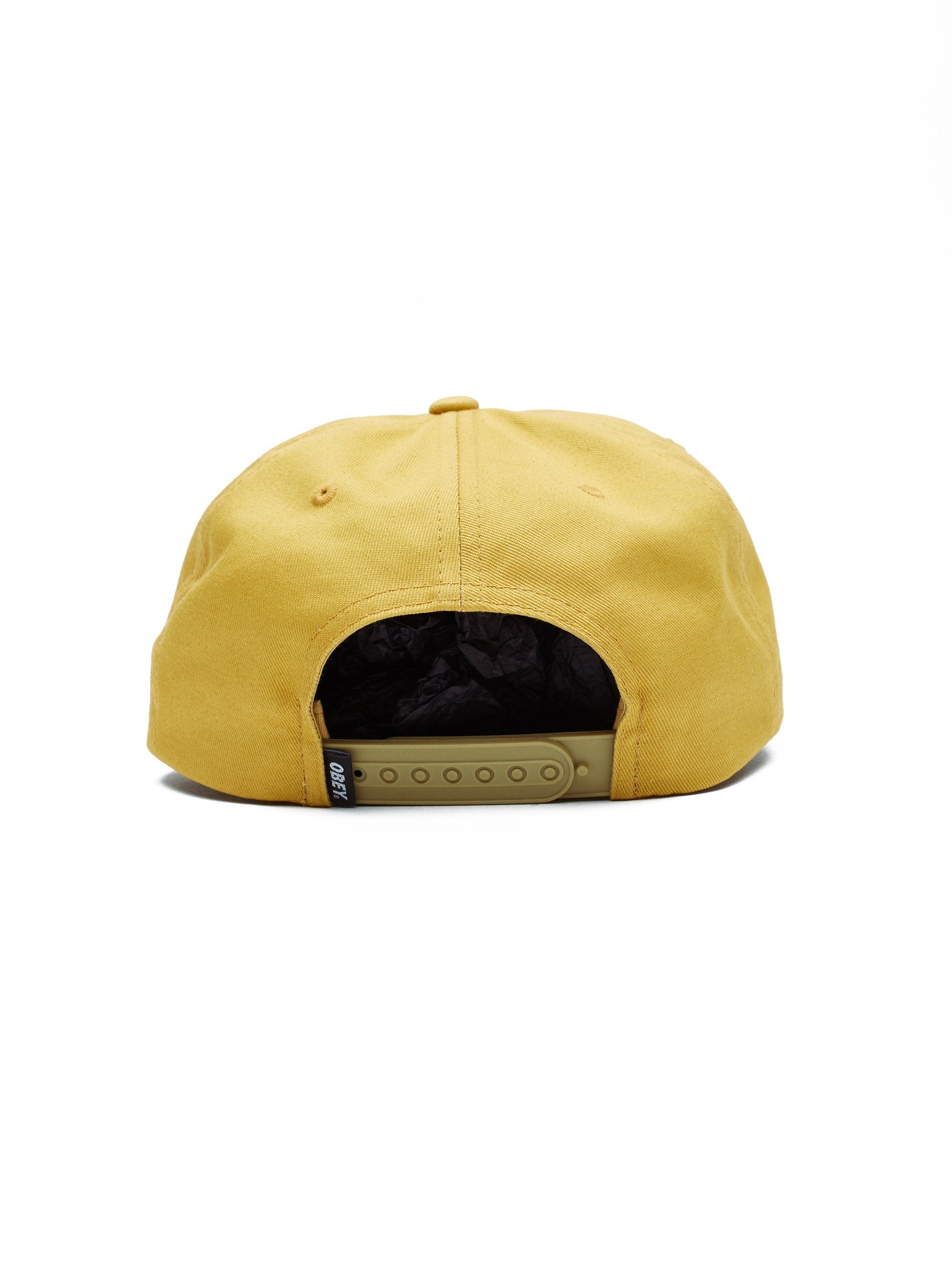 OBEY HATS ROTATION SNAPBACK - GOLD