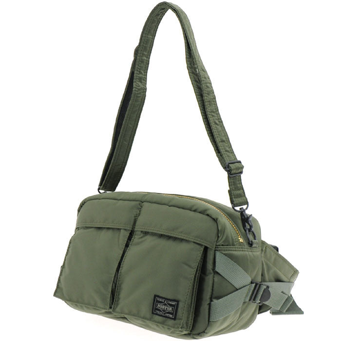 TANKER WAIST BAG (L) - BLACK