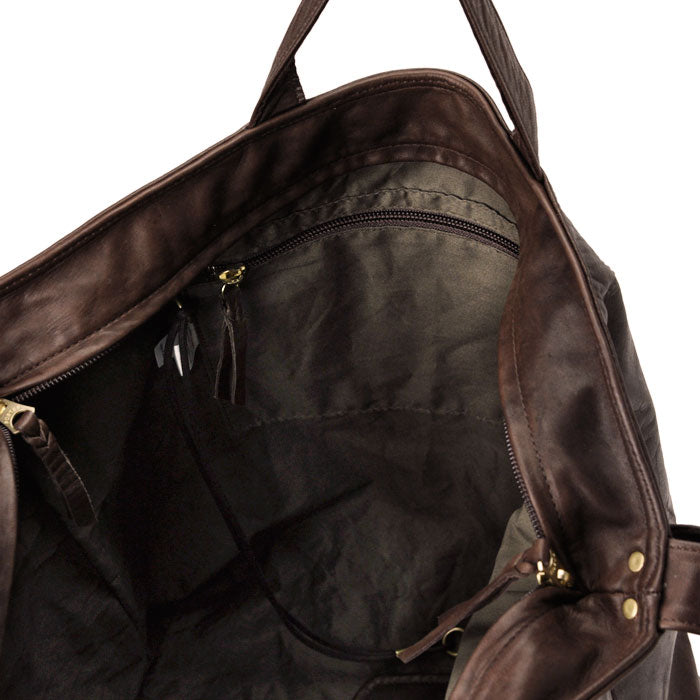PORTER FRANK 2WAY SHOULDER BAG (L) - BLACK