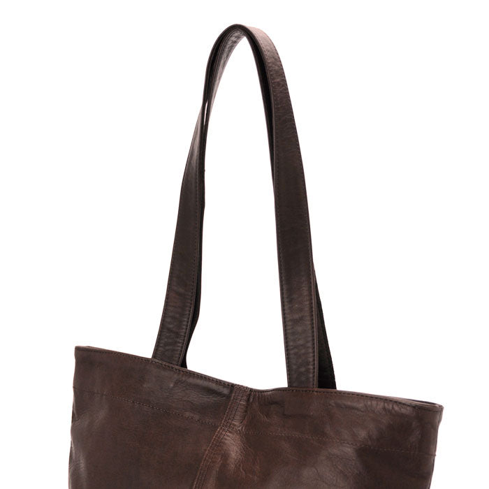 PORTER FRANK TOTE BAG - BROWN