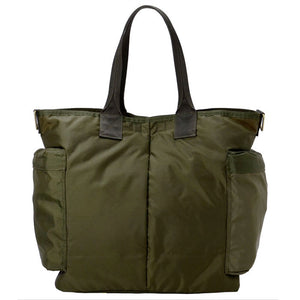 PORTER YOSHIDA BACKPACKS Default PORTER FORCE 2WAY TOTE BAG - OLIVE