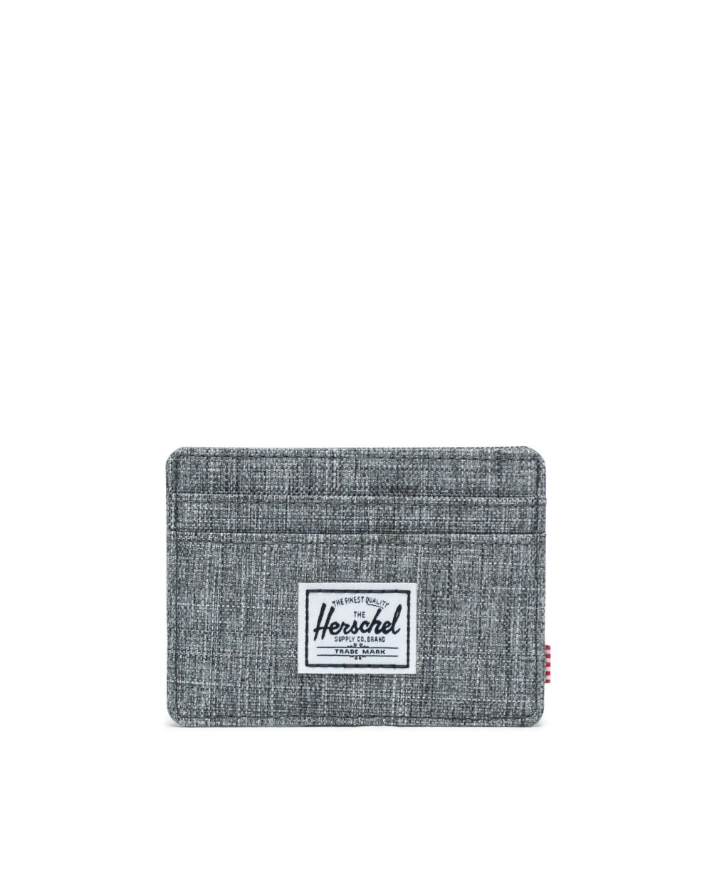 CHARLIE WALLET RAVEN CROSSHATCH