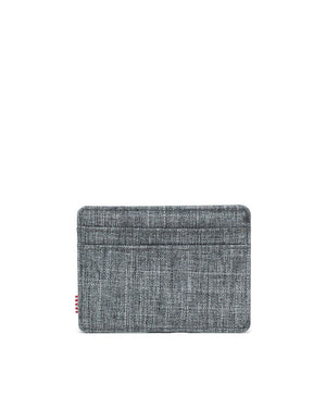 HERSCHEL WALLETS Default CHARLIE WALLET RAVEN CROSSHATCH