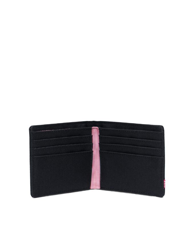 HERSCHEL WALLETS ROY WALLET - BLACK/BLACK