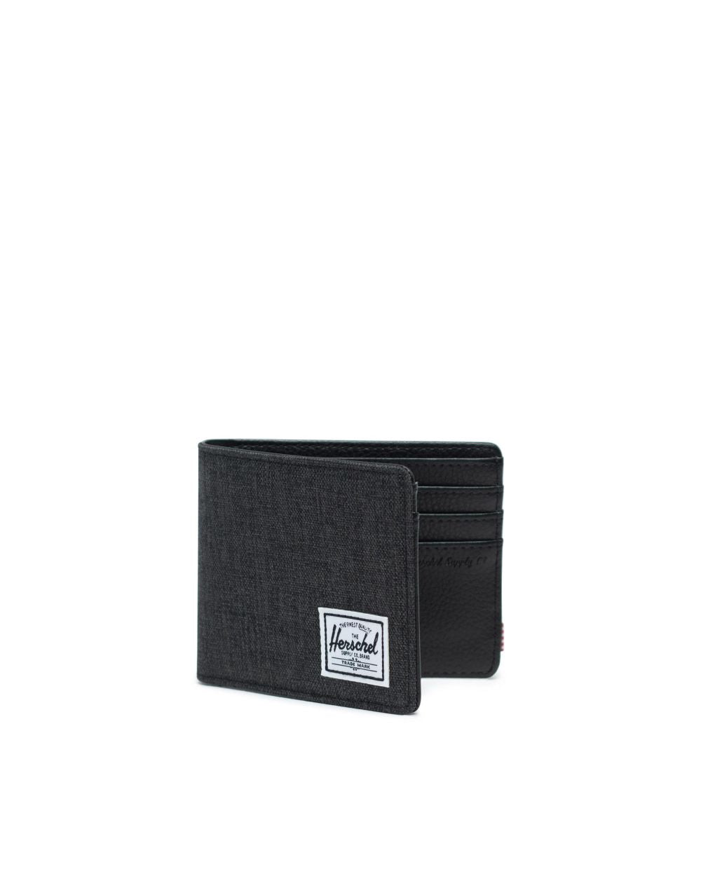 HERSCHEL WALLETS Default HANK WALLET BLACK CROSSHATCH/BLACK