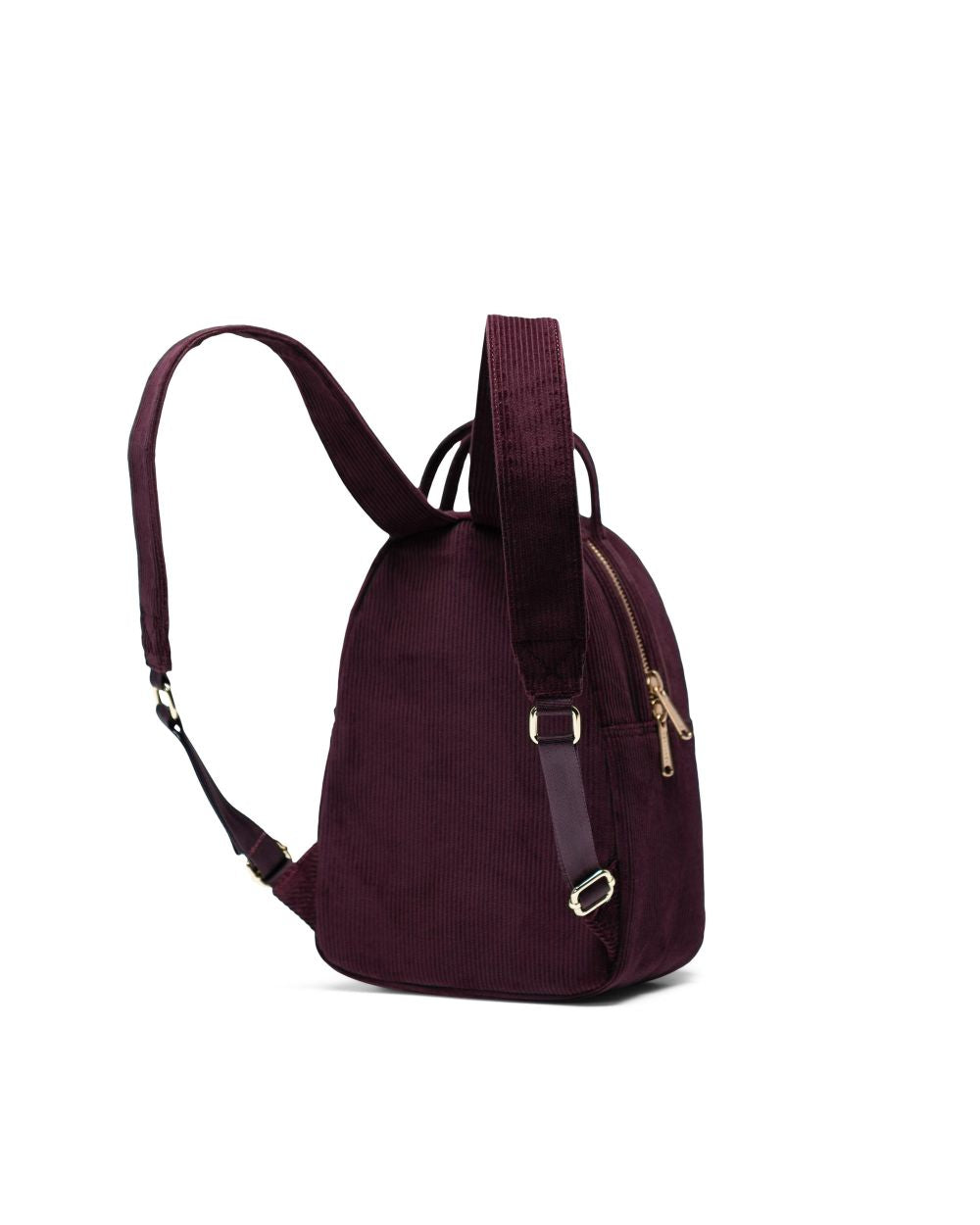 NOVA BACKPACK MINI CORDUROY - PLUM