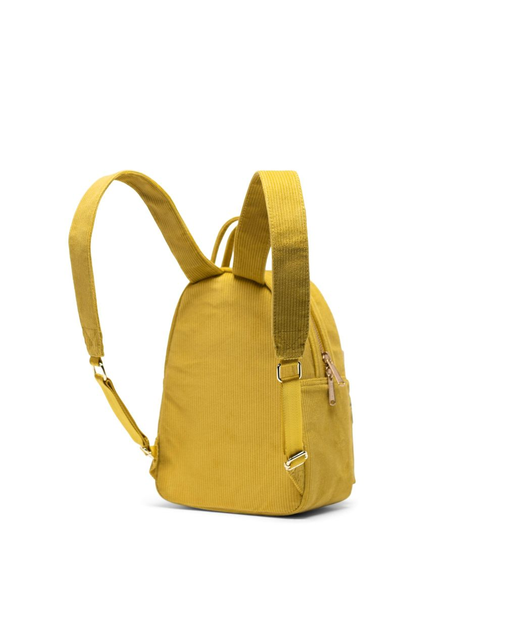NOVA BACKPACK MINI CORDUROY - GOLDEN PALM