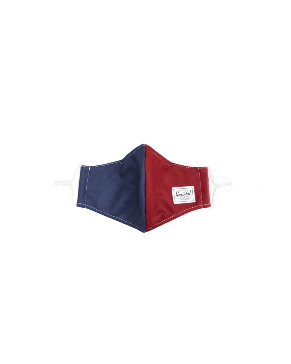 HERSCHEL MASKS CLASSIC FITTED FACE MASK - NAVY/RED