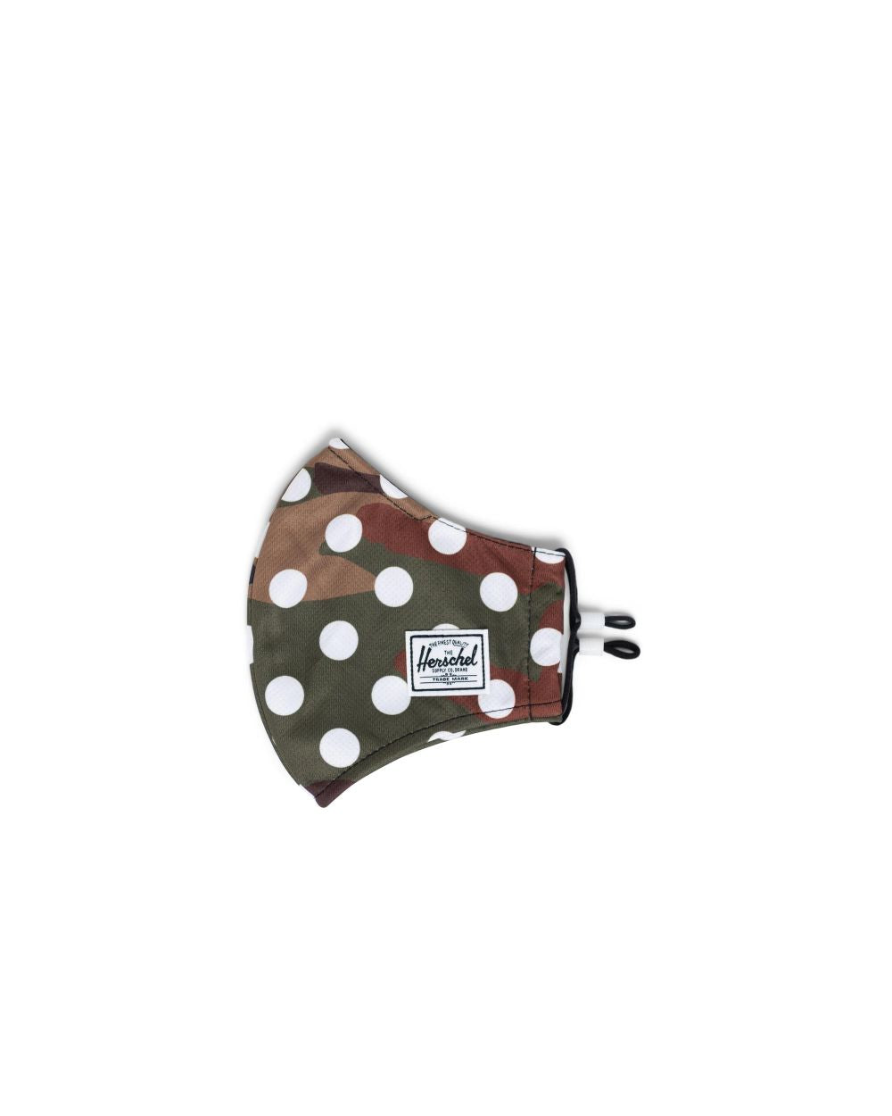 HERSCHEL MASKS CLASSIC FITTED FACE MASK - WILD POLKA DOT