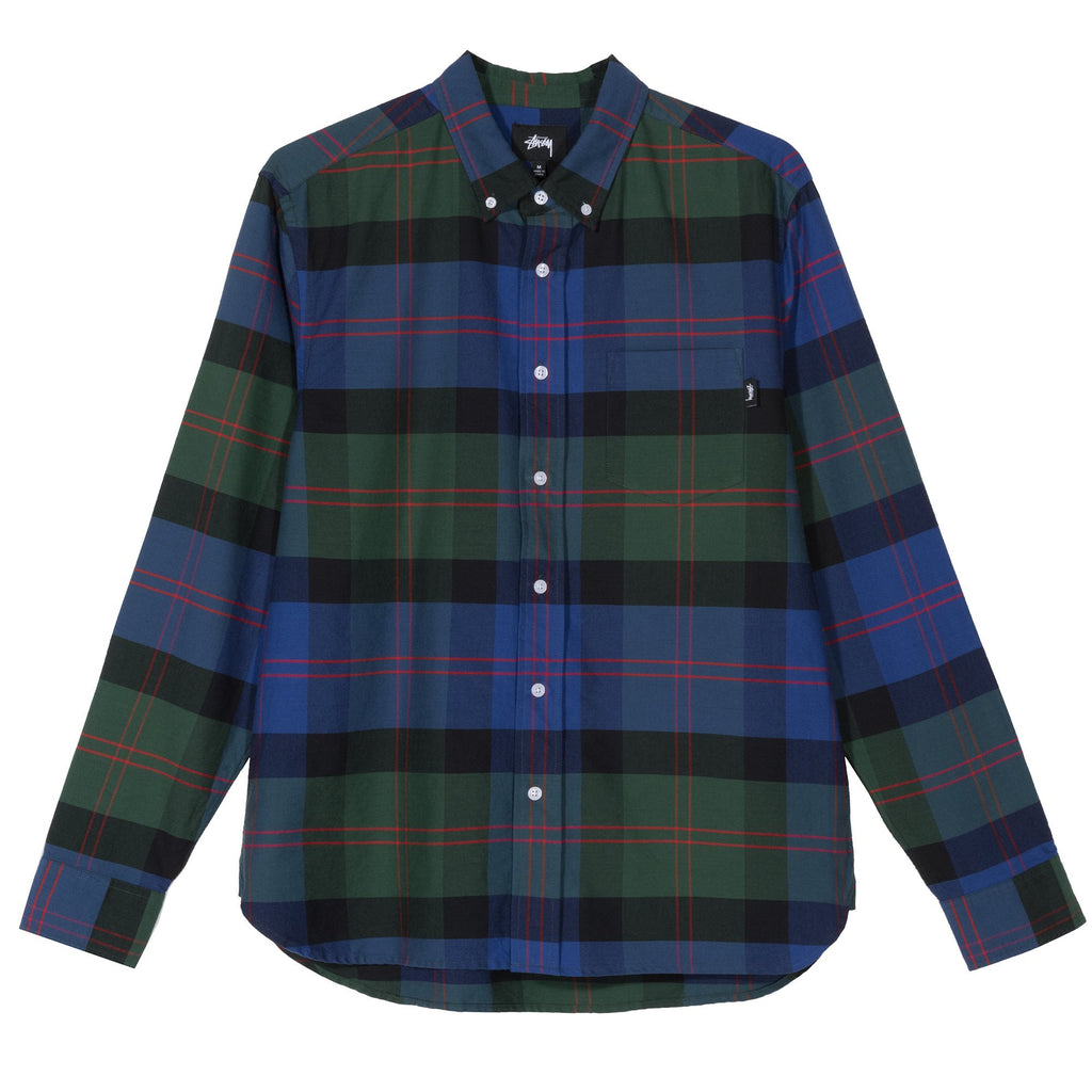 CLASSIC OXFORD L/S SHIRT - GREEN
